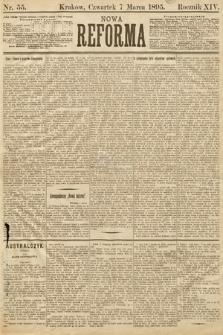 Nowa Reforma. 1895, nr55