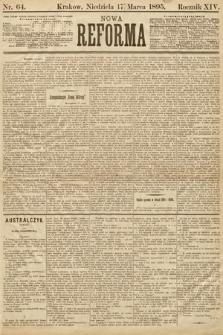 Nowa Reforma. 1895, nr64