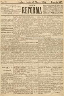 Nowa Reforma. 1895, nr71