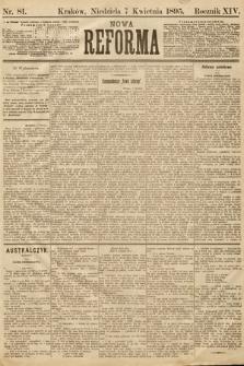 Nowa Reforma. 1895, nr81
