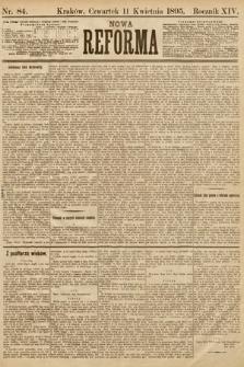 Nowa Reforma. 1895, nr84