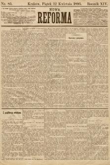 Nowa Reforma. 1895, nr85