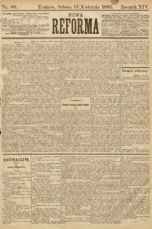 Nowa Reforma. 1895, nr86