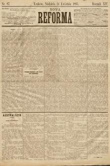 Nowa Reforma. 1895, nr87