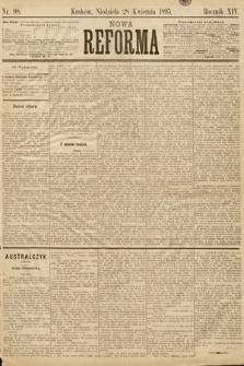 Nowa Reforma. 1895, nr98