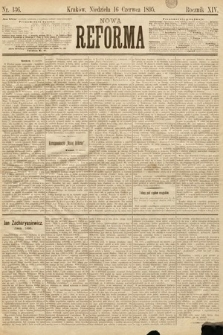 Nowa Reforma. 1895, nr136