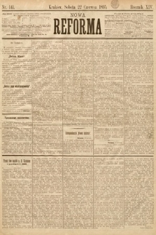 Nowa Reforma. 1895, nr141