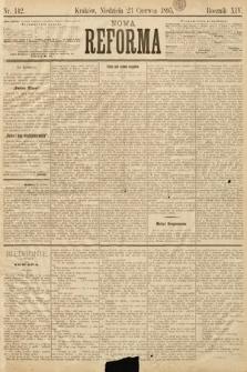 Nowa Reforma. 1895, nr142