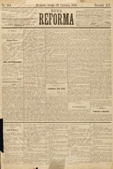 Nowa Reforma. 1895, nr144