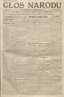 Głos Narodu. 1922, nr23
