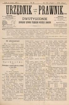 Urzędnik w Połączeniu z Prawnikiem : dwutygodnik poświęcony sprawom urzędników wszelkich zawodów. 1886, nr3