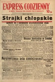 Kielecki Express Codzienny. 1937, [nr195]