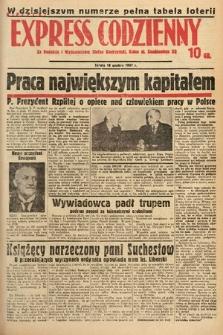 Kielecki Express Codzienny. 1937, [nr308]