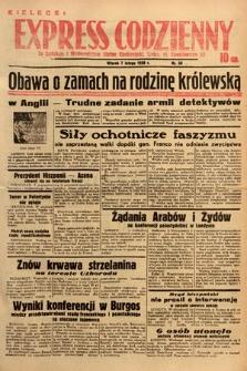 Kielecki Express Codzienny. 1939, nr38