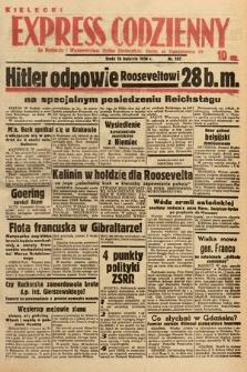 Kielecki Express Codzienny. 1939, nr107