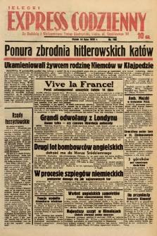 Kielecki Express Codzienny. 1939, nr192