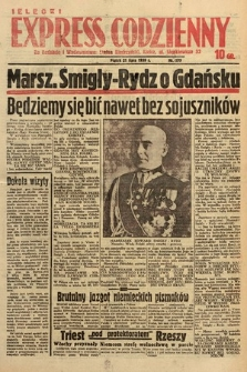 Kielecki Express Codzienny. 1939, nr199