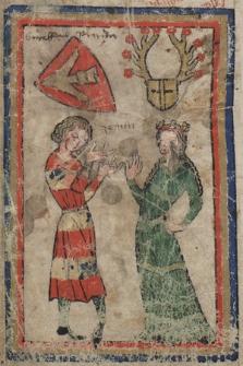 Das sogennante Naglersche Fragment einer Minnesängerhandschrift