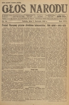 Głos Narodu. 1923, nr59