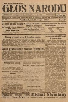 Głos Narodu. 1923, nr166