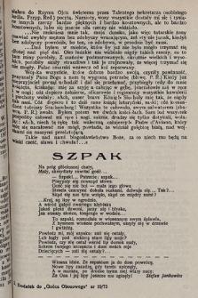 """Na Żołnierskim Szlaku : dodatek literacki """"Gońca Obozowego"""" pisma żołnierzy Dywizji Strzelców Pieszych. 1943"""