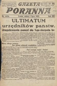 Gazeta Poranna. 1922, nr6424