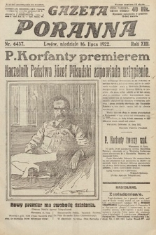 Gazeta Poranna. 1922, nr6437