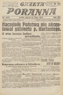 Gazeta Poranna. 1922, nr6441