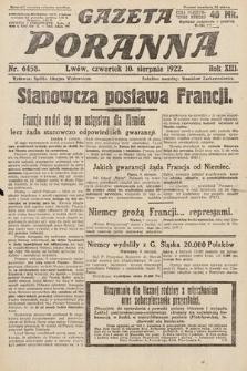 Gazeta Poranna. 1922, nr6458