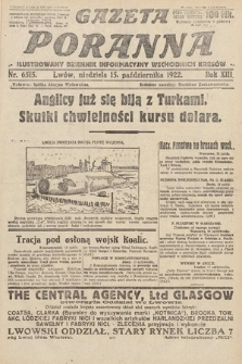 Gazeta Poranna : ilustrowany dziennik informacyjny wschodnich kresów Polski. 1922, nr6515
