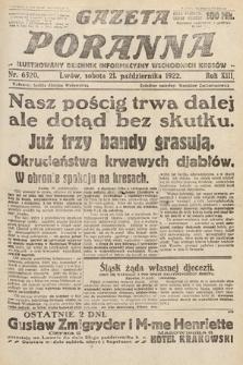 Gazeta Poranna : ilustrowany dziennik informacyjny wschodnich kresów Polski. 1922, nr6520