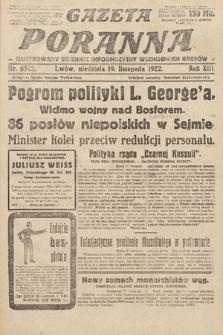 Gazeta Poranna : ilustrowany dziennik informacyjny wschodnich kresów Polski. 1922, nr6542