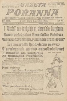 Gazeta Poranna : ilustrowany dziennik informacyjny wschodnich kresów Polski. 1922, nr6556
