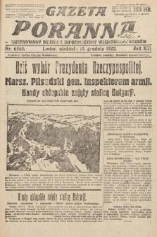 Gazeta Poranna : ilustrowany dziennik informacyjny wschodnich kresów Polski. 1922, nr6560