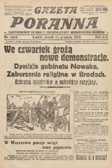 Gazeta Poranna : ilustrowany dziennik informacyjny wschodnich kresów Polski. 1922, nr6564