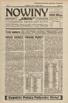 """Nowiny """"Smok"""" : tygodnik bezpartyjny. 1923, nr8"""