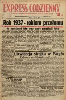 Kielecki Express Codzienny. 1938, nr1