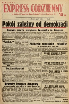 Kielecki Express Codzienny. 1938, nr5