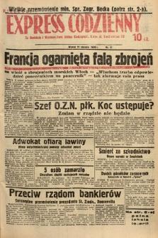Kielecki Express Codzienny. 1938, nr11
