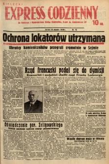 Kielecki Express Codzienny. 1938, nr15