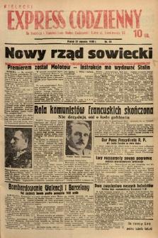 Kielecki Express Codzienny. 1938, nr21