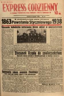 Kielecki Express Codzienny. 1938, nr23
