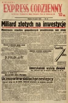Kielecki Express Codzienny. 1938, nr30