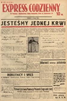 Kielecki Express Codzienny. 1938, nr37