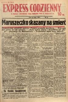 Kielecki Express Codzienny. 1938, nr55