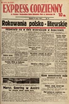 Kielecki Express Codzienny. 1938, nr88