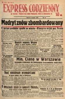 Kielecki Express Codzienny. 1938, nr98