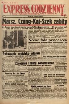 Kielecki Express Codzienny. 1938, nr106