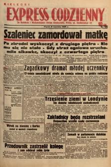 Kielecki Express Codzienny. 1938, nr108