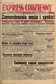 Kielecki Express Codzienny. 1938, nr117